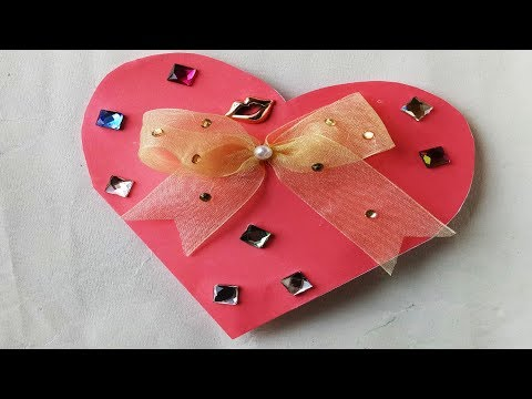 How to make Valentine's Day gift card with a paper Gift & Decoration Ideas.