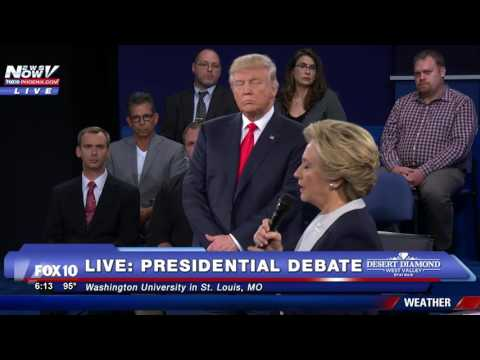 FULL: 2nd Presidential Debate - Town Hall Event- Donald Trump - Hillary Clinton - FNN