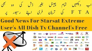 Watch Nilesat 7 channels with out Dish And More channel's On Starsat Extreme 2000