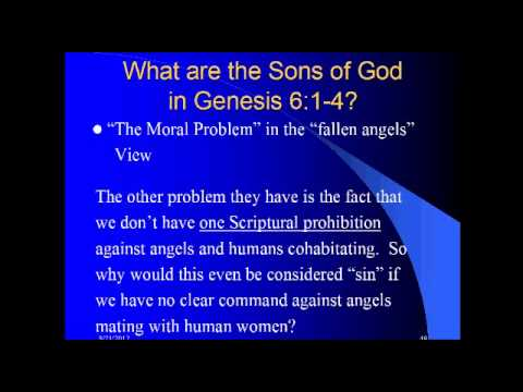What Are The Sons Of God In Genesis 6 1 4 Part 5 Youtube