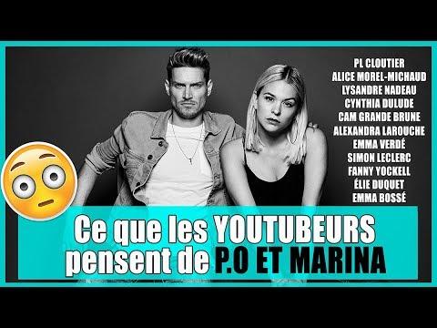 Ce que les YOUTUBEURS pensent de nous! (OH MY FEST) // P.O et MARINA