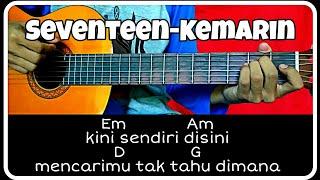 Kunci Gitar (SEVENTEEN-KEMARIN) Pemula