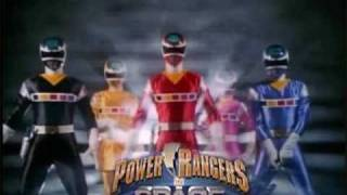 Power Rangers Mix Themes Of In Space And Lost Galaxy