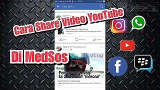 Cara Membagikan Link Video Youtube Di Medsos  Fb,i