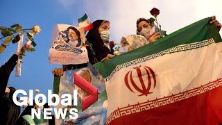 Hardliner Ebrahim Raisi wins Iran's presidential election as supporters celebrate