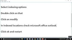 Fix: Something went wrong and your search couldn't be completed in Microsoft outlook