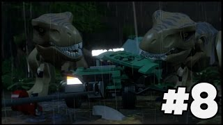 TWO T-REXES! | LEGO Jurassic World - Part 8
