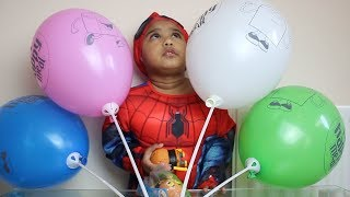 Kids Learn Colors with Balloons & Finger Family Song | Beautiful Ishfi