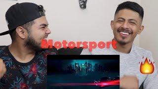 Migos, Cardi B, Nicki Minaj - MotorSports - REACTION!!!