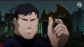 Бэтмен и Зеленый Фонарь против Супермена. Лига Справедливости: Война.(By Экзомомент)