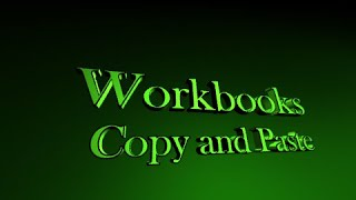 Programming in Excel Lesson 5 - Workbooks and Sheets