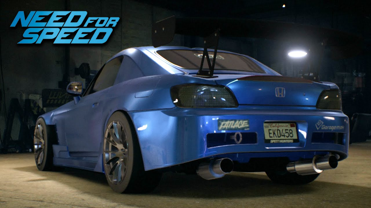 Nfs Custom Cars Honda Drift Build Youtube