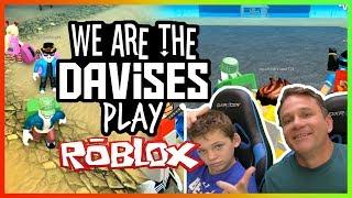 Father Son Treasure Hunt | Roblox Treasure Hunt Simulator EP-64 | We Are The Davises Gaming