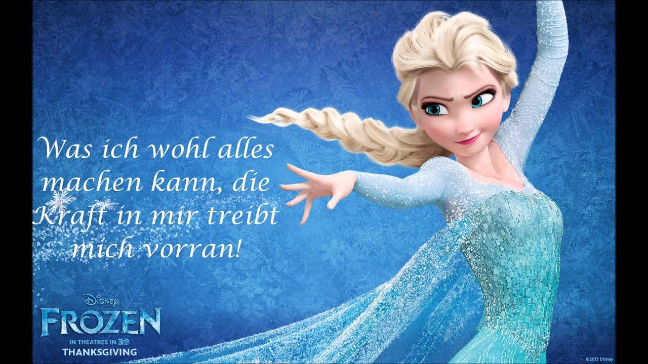 Die Eiskönigin - Ich lass los/Frozen - Let it go German ...