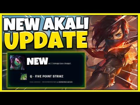 MASSIVE CHANGE: New Akali Update Coming in Patch 10.19 (Legendary Akali Skin) League of Legends