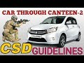 CAR THROUGH CSD,Defence News on Military canteen csd,CSD car financing.CHAMBz BANG