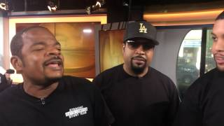 Ice Cube and Straight Outta Compton cast, director discuss BYE FELICIA