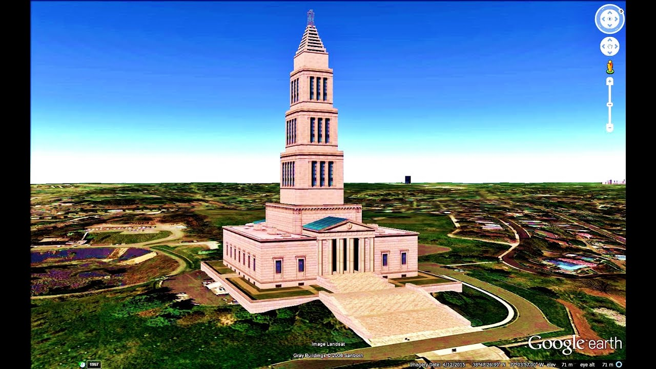 HISTORICAL PLACES OF VIRGINIA STATEU S A IN GOOGLE EARTH YouTube - Va which state in usa