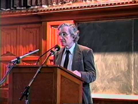 Noam Chomsky - Neoliberalism & the Global Order (Full Talk - Original Upload)