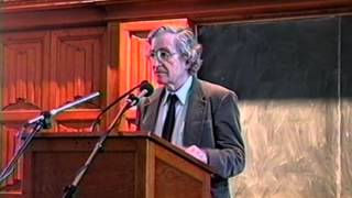 Noam Chomsky - Neoliberalism & the Global Order (Full Talk - Original Upload)
