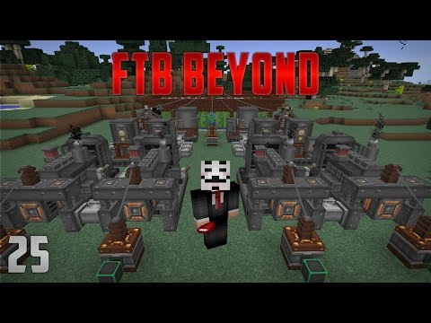 FTB Beyond EP 25 Immersive Engineering Diesel Generator