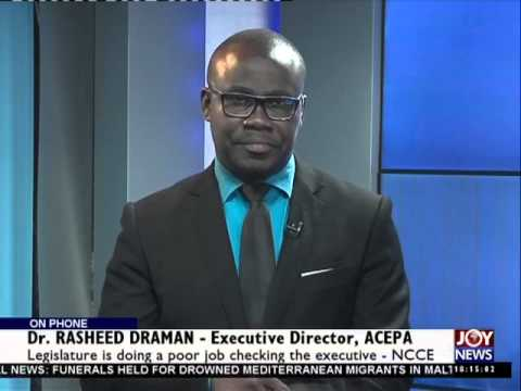 Ghana's Parliament - Today's Big Story (23-4-15)