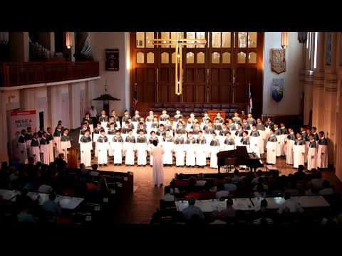 Ave Maria Ko Matsushita : WYK Boys Choir - The World Choir Games 2012 - Musica Sacra (Part 4 Of 4)