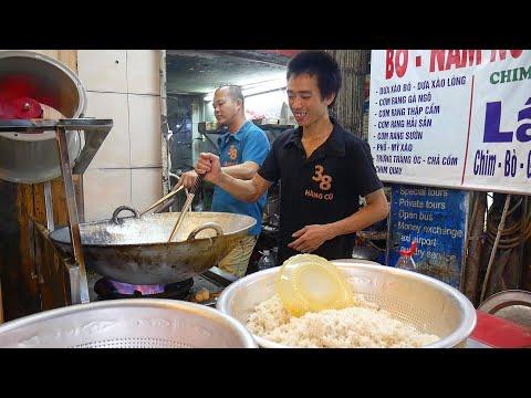 VIETNAM STREET FOOD TOUR in HANOI's Old Quarter | DELICIOUS Vietnamese Food in Hanoi, Vietnam