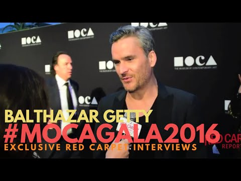 Balthazar Getty #TwinPeaks interviewed at the 37th Annual MOCA Gala Red Carpet #‎MOCAGala2016