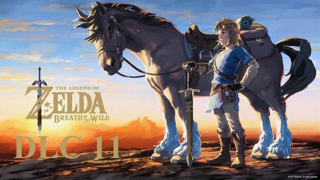 The legend of zelda botw dlc 11 les preuves de - Link dans zelda ...