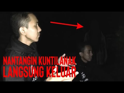 Nantangin Kuntilanak Di Rumah Tua Lokasi Syuting Film Kuntilanak 2 - Vlog Horor Part 7