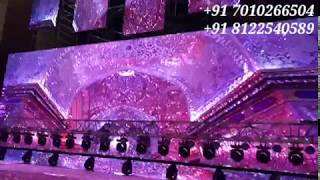 #NEW CONCEPT #3D #LED PINK/PURPLE COLORFUL STAGE FOR #CORPORATE EVENTS