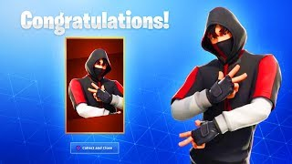 The NEW Fortnite MOBILE SKIN! (How To Get Ikonik Skin Bundle)
