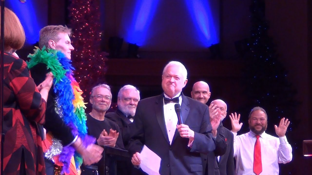 Seattle Men's Chorus Honors Kevin Gallagher - YouTube