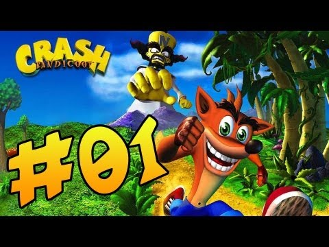Let's Play Crash Bandicoot (German/HD) #01 - Old School!