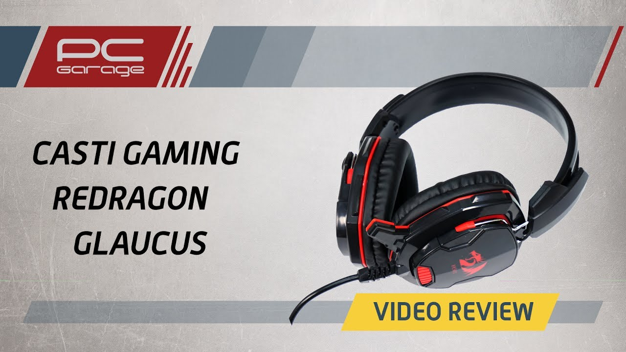 Video Review Casti Gaming Redragon Glaucus