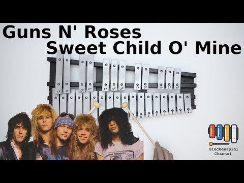 Guns N' Roses-Sweet Child O' Mine💗🎺on The Glockenspiel (BELLs)  🎧