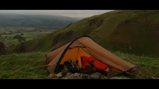 Hilleberg Akto - Wild camping in the Peak District