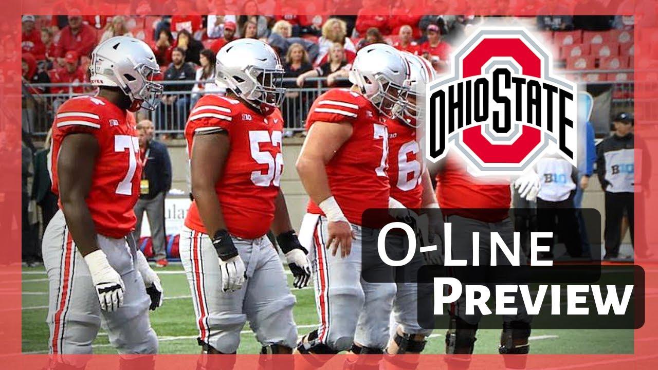 buy popular 5a81b 1c9ae 2019 Ohio State Buckeyes Offensive Line   THE WEAK LINK