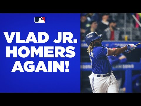 30 FOR VLAD! Vladimir Guerrero Jr. CRUSHES his 2nd homer of