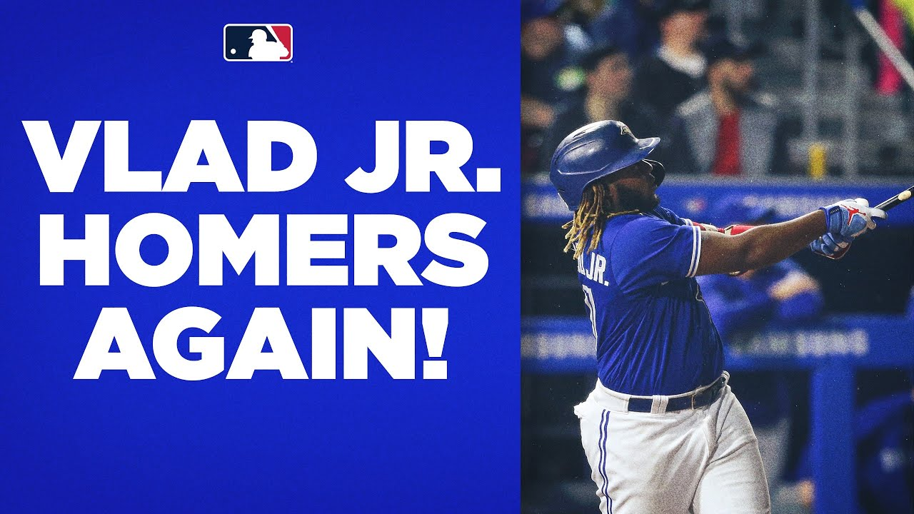 Download 30 FOR VLAD! Vladimir Guerrero Jr. CRUSHES his 2nd homer of the night to reach 30 for the season!