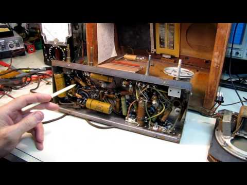 Pilot Radio T- 511 Restoration Part 1