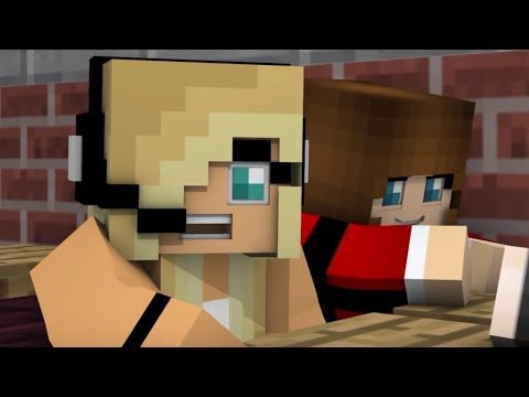 "NEW Minecraft Song Psycho Girl 12 - Psycho Girl ""Rise"" - Minecraft Animation Music Video Series thumbnail"