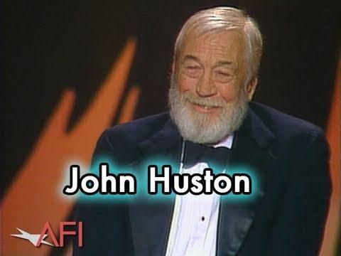 John Huston Accepts the AFI Life Achievement Award in 1983