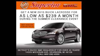 Detroit Buys Buicks and GMCs at Superior Buick GMC