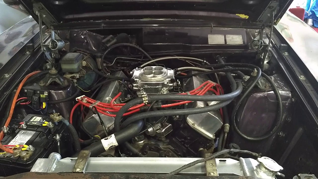 Holley Sniper EFI first attempt (1977 Ford Falcon XC 351)
