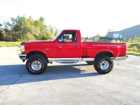 95 F150 Lifted >> 1992 Ford F150 Flareside 5.8L Truck - Walk Around, Tour, Engine, Start Up - Classic - YouTube