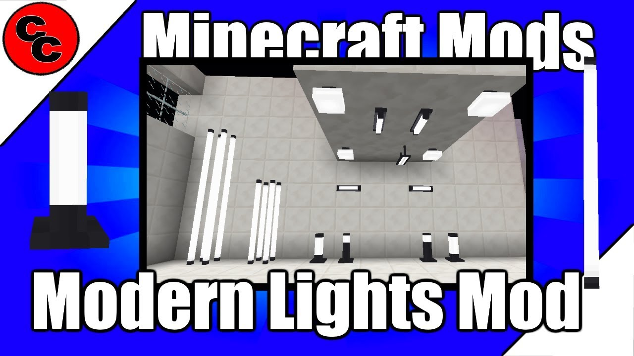 Minecraft Mods Modern Lights Mod 112