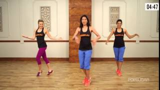 10-Minute Bollywood Dance Fitness Workout| Bombay Jam®