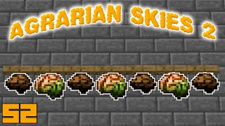 Minecraft Mods Agrarian Skies 2 - FOOD FOR THOUGHT [E52] (Modded Skyblock)